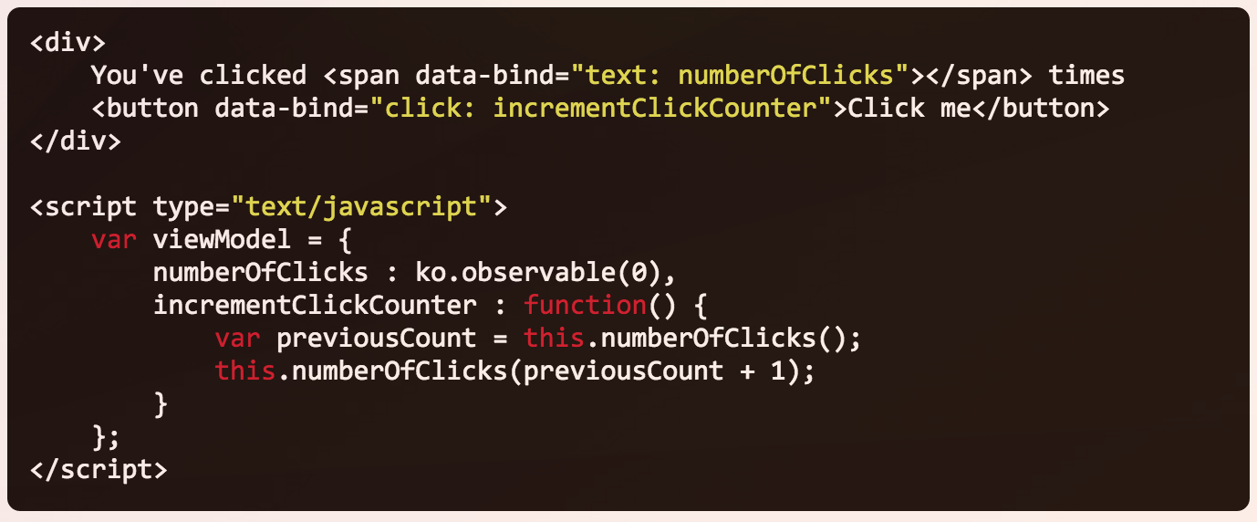 Odd Knockout click event data binding – Work'n'Me